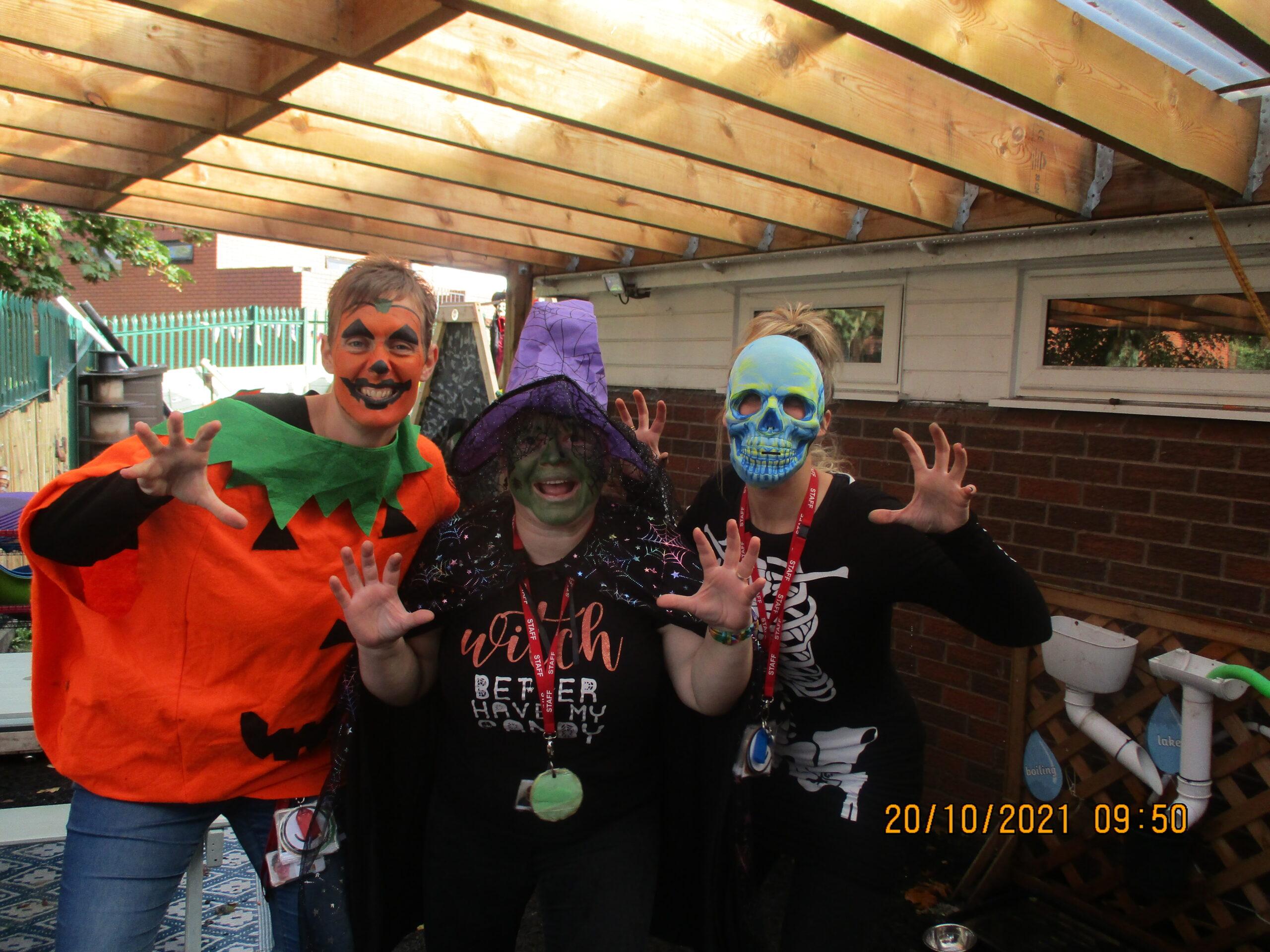 Halloween fun at the nursery!